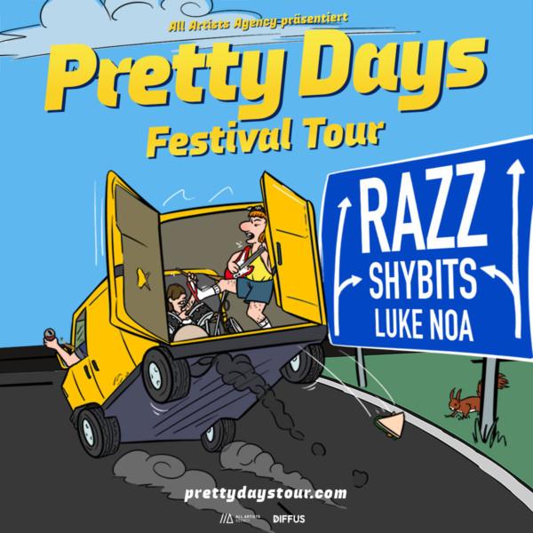 Pretty Days Festival Tour im August 2021